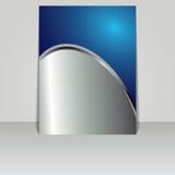 Brochure card banner metal Stock Photo