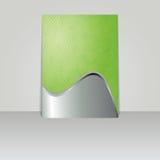 Brochure card banner metal Stock Images