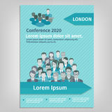 Brochure Conference Illustration Royalty Free Stock Image