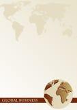Brochure cover - Business card vector illustration