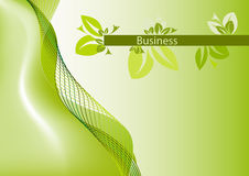 Brochure cover - Business card Stock Photos