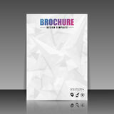 Brochure cover design. Flyer, poster, booklet template. Vector illustration Royalty Free Stock Images