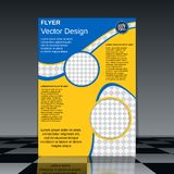 Brochure cover design Royalty Free Stock Photo