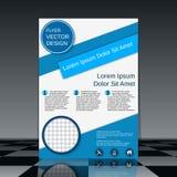 Brochure cover vector design template Stock Photos