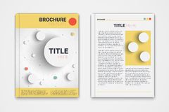Brochure Stock Photos