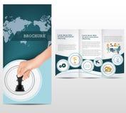 Brochure d'affaires Photographie stock libre de droits