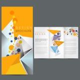 Brochure d'affaires Images stock
