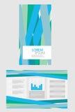 Brochure d'affaires Photo libre de droits