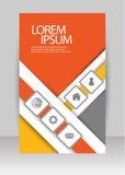 Brochure d'affaires Images libres de droits