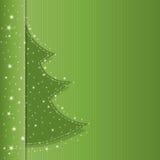 Brochure de classique d'arbre de Noël Photos stock