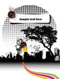 Brochure de réception Photo libre de droits