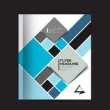 Brochure de rapport annuel, insecte, tract, présentation, disposition de calibre des textes, couverture Photo stock