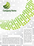 Brochure design Stock Images