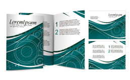 Brochure design Royalty Free Stock Photo