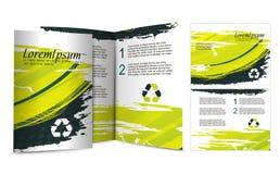 Brochure design. For night club, illustartion