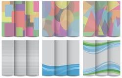 Brochure design Stock Photo