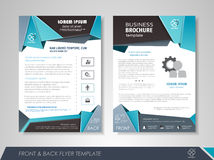 Brochure design business Stock Photo
