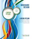 Brochure design content background, illustration Stock Photo