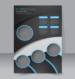Brochure design. Flyer template. Editable A4 poster Stock Photography