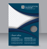 Brochure design. Flyer template. Editable A4 poster Stock Photos