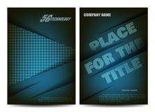 Brochure design. Flyer template. Editable A4 poster for business, education, presentation, website, magazine cover. stock illustration