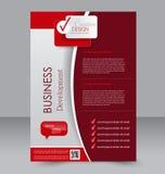 Brochure design. Flyer template. Editable A4 poster Stock Photos