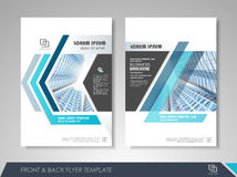 Brochure design Stock Photography