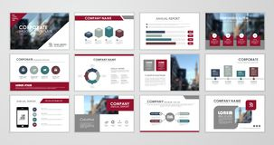 Brochure design set Royalty Free Stock Image