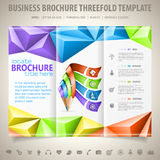 Brochure Design Template Stock Images