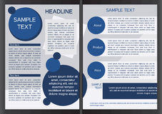 Brochure design template Stock Photo