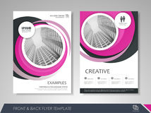Brochure Design Template Royalty Free Stock Photography