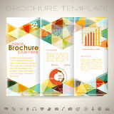 Brochure Design Template Royalty Free Stock Photos