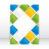 Brochure design Stock Images