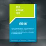 Brochure Flyer Design Stock Photos