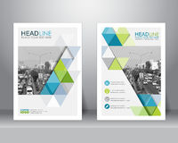 Free Brochure Flyer Design Template. Vector Royalty Free Stock Photography - 72302637