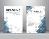 Brochure flyer design template. vector royalty free illustration