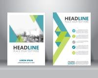 Brochure flyer design template. vector. Formal business brochure flyer design layout template in A4 size. can be use for poster, banner, graphic element, leaflet stock illustration