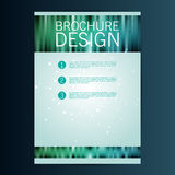 Brochure Flyer design vector template. Eps 10 Stock Photo