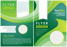 Brochure flyer luxury design in a4 size layout template Royalty Free Stock Photography