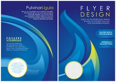 Brochure flyer luxury design in a4 size layout template Stock Photography