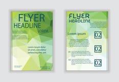 Brochure flyer vector design illustration Royalty Free Stock Photography