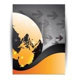 Brochure/insecte d'affaires Image stock