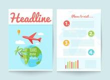 Brochure, insecte, voyage Photographie stock libre de droits