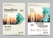 Brochure Layout design template. Annual Report Flyer Leaflet cover Presentation Modern background. illustration in A4 royalty free illustration