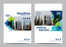 Brochure Layout Design Template. Annual Report Flyer Leaflet Cover Presentation Modern Background. Illustration Vector In A4 Stock Photos