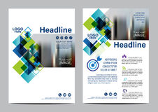 Brochure Layout design template. Annual Report Flyer Leaflet cover Presentation Modern background. illustration vector in A4 Royalty Free Stock Photography