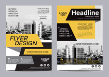 Brochure Layout design template. Annual Report Flyer Leaflet cover Presentation Modern background. illustration  in A4 Stock Photo