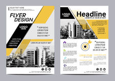 Brochure Layout design template. Annual Report Flyer Leaflet cover Presentation Modern background. illustration  in A4 Stock Photos