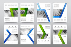 Brochure layout template flyer design vector, Magazine booklet cover abstract background. Poster leaflet Royalty Free Stock Images