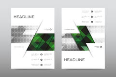 Brochure layout template flyer design vector, Magazine booklet cover abstract background. Poster leaflet Stock Photography